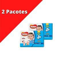Fralda HUGGIES Jumbinho XG Kit C/ 2x 14 unidades -
