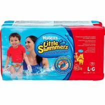 Fralda huggies little swimmers g c/10