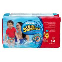 Fralda Huggies Mar Piscina Grande com 10 - Little Swimmers