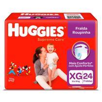 Fralda Huggies Roupinha Suprema Care XG c/24 Unidades -