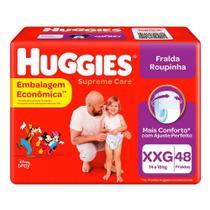 Fralda Huggies Roupinha Suprema Care XXG c/48 Unidades -