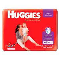 Fralda Huggies Roupinha Supreme Care Jumbo XG 14 unidades -