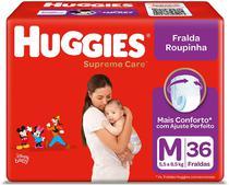 Fralda Huggies Roupinha Supreme Care M 36 Unidades -