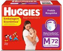 Fralda Huggies Roupinha Supreme Care M 72 Unidades -