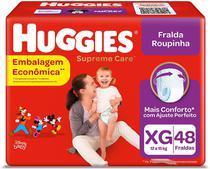 Fralda Huggies Roupinha Supreme Care XG 48 Unidades -