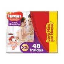 Fralda Huggies Roupinha Supreme Care XG - 48 Unidades -