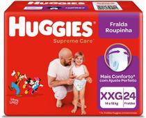 Fralda Huggies Roupinha Supreme Care XXG 24 Unidades -