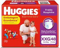Fralda Huggies Roupinha Supreme Care XXG 48 Unidades -