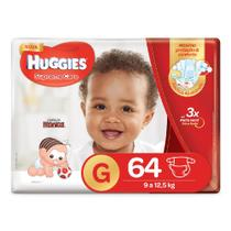 Fralda Huggies Supreme Care G - 64 Fraldas