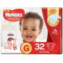 Fralda huggies supreme care g c/32 -