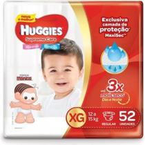 Fralda Huggies Supreme Care Hiper XG 52 unidades -