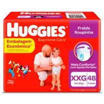 Fralda HUGGIES Supreme Care Hiper XXG 48 Unidades -