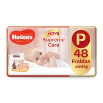 Fralda Huggies Supreme Care P 48 Fraldas -