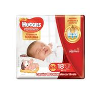 Fralda huggies supreme care rn c/18 -