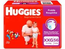 Fralda Huggies Supreme Care Roupinha Calça - Tam. XXG Mais de 14kg 56 Unidades -