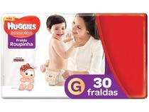 Fralda Huggies Supreme Care - Roupinha Tam. G 9 a 12,5kg 30 Unidades