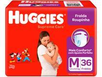 Fralda Huggies Supreme Care - Roupinha Tam. M 5,5 a 9,5kg 36 Unidades