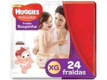 Fralda Huggies Supreme Care - Roupinha Tam. XG 12 a 15kg 24 Unidades