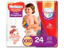 Fralda Huggies Supreme Care - Roupinha Tam. XXG + 14kg 24 Unidades
