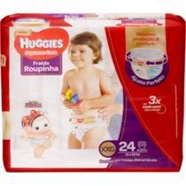 Fralda Huggies Supreme Care Roupinha Xxg 24 unidades 14kg+ -