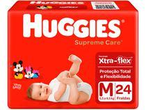 Fralda Huggies Supreme Care - Tam. M 5,5 a 9,5kg 24 Unidades
