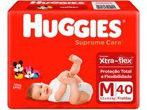 Fralda Huggies Supreme Care - Tam. M 5,5 a 9,5kg 40 Unidades