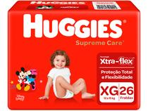 Fralda Huggies Supreme Care  - Tam. XG 12 a 15kg 26 Unidades