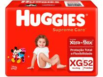 Fralda Huggies Supreme Care - Tam. XG 12 a 15kg 52 Unidades -