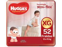 Fralda Huggies Supreme Care - Tam. XG 12 a 15kg 52 Unidades
