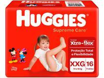 Fralda Huggies Supreme Care - Tam. XXG 14 a 18kg 16 Unidades -
