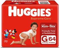 Fralda Huggies Supreme Care Turma da Mônica G 64 Unidades -