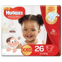 Fralda HUGGIES Supreme Care XXG - 26 Fraldas -