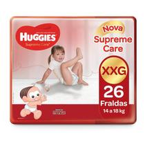 Fralda Huggies Supreme Care XXG - 26 Tiras -