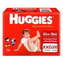 Fralda Huggies Supreme Care XXG c/26 Unidades -