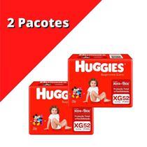 Fralda HUGGIES Supreme XG Kit C/ 2x 52 unidades -