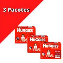 Fralda HUGGIES Supreme XG Kit C/ 3x 52 unidades -