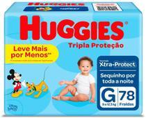 Fralda Huggies Tripla Proteção Hiper G C/78 -