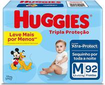 Fralda Huggies Tripla Proteção Hiper XG C/66 -