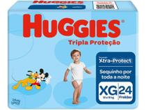 Fralda Huggies Tripla Proteção Jumbo XG 24 Unidades -