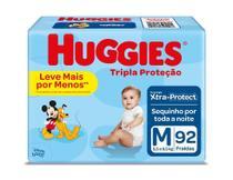 Fralda Huggies Tripla Proteção M 92 Unidades -