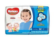 Fralda huggies tripla proteção mega c/32 xg -
