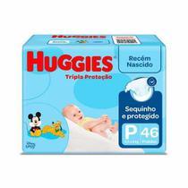 Fralda huggies tripla proteção mega p 46un -