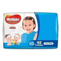 Fralda Huggies Tripla Proteção Mega XG 42 Unidades -