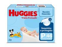 Fralda Huggies Tripla Proteção P 46 Unidades -