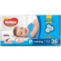 Fralda huggies tripla proteção p c/36 -