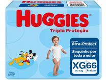 Fralda Huggies Tripla Proteção - Tam. XG 12 a 15kg 66 Unidades