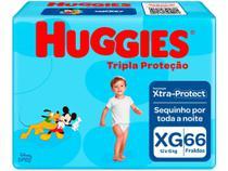 Fralda Huggies Tripla Proteção - Tam. XG 12 a 15kg 66 Unidades -