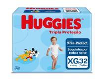 Fralda Huggies Tripla Proteção XG 32 Unidades -