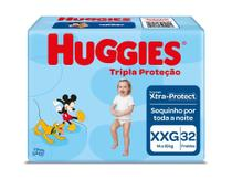 Fralda Huggies Tripla Proteção XXG 32 Unidades -