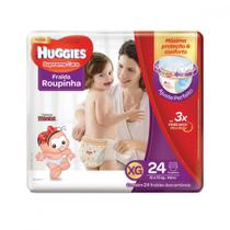 Fralda Huggies XG Supreme Care Roupinha Mega 24 Unidades -